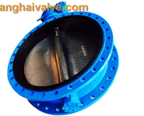 Double flange butterfly valve (17)
