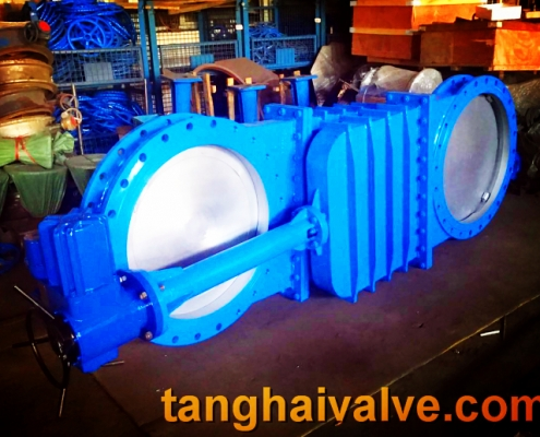 Knife gate valve (1)