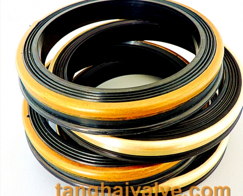NBR-Rubber Seal with brass valve parts seat