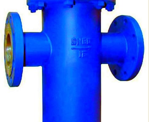 T type strainer filter valve