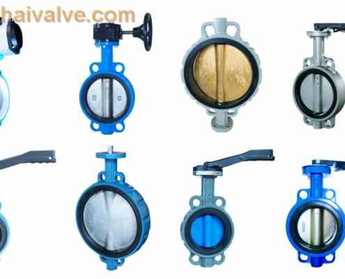 Types of wafer butterfly valves