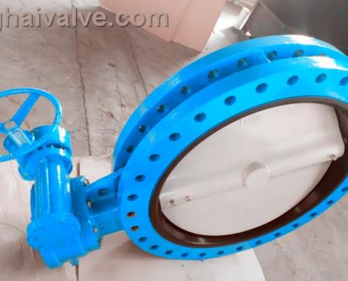 U type flange butterfly valve (8)