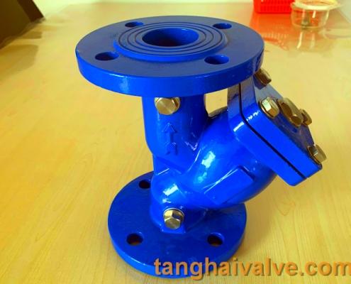 Y type strainer filter valve (10)