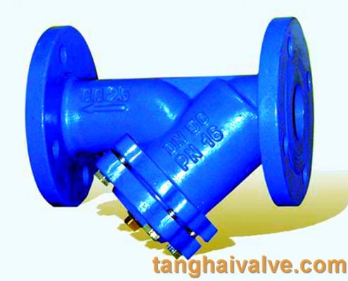 Y type strainer filter valve (11)