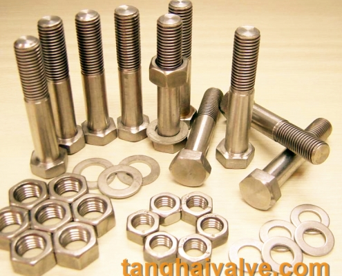 bolts and nuts for butterfly valve