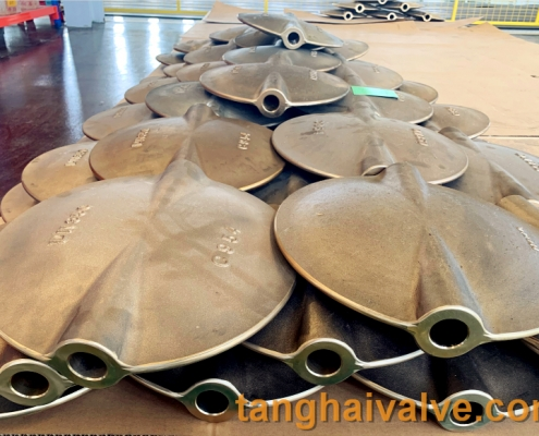 center-line butterfly valve plate disc parts (11)