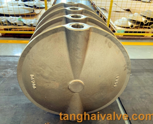 center-line butterfly valve plate disc parts (4)