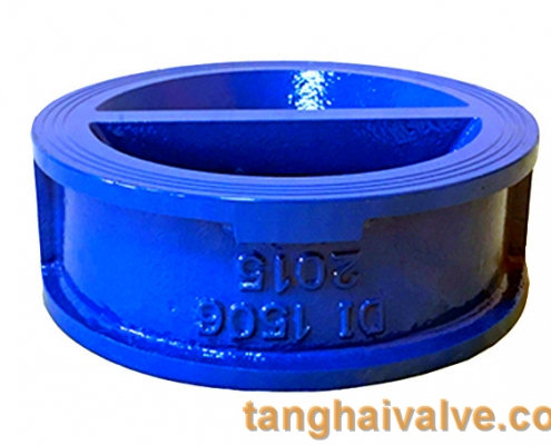 double plate check valve body