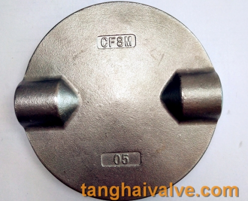 double stem butterfly valve plate disc parts
