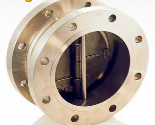 dual plate, flange type, check valve