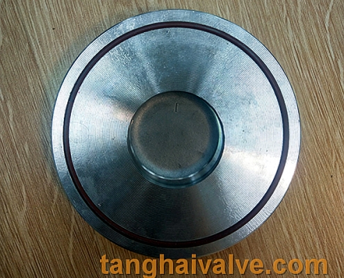 single plate swing check valve body