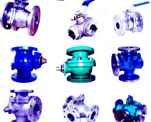 types of ball valve