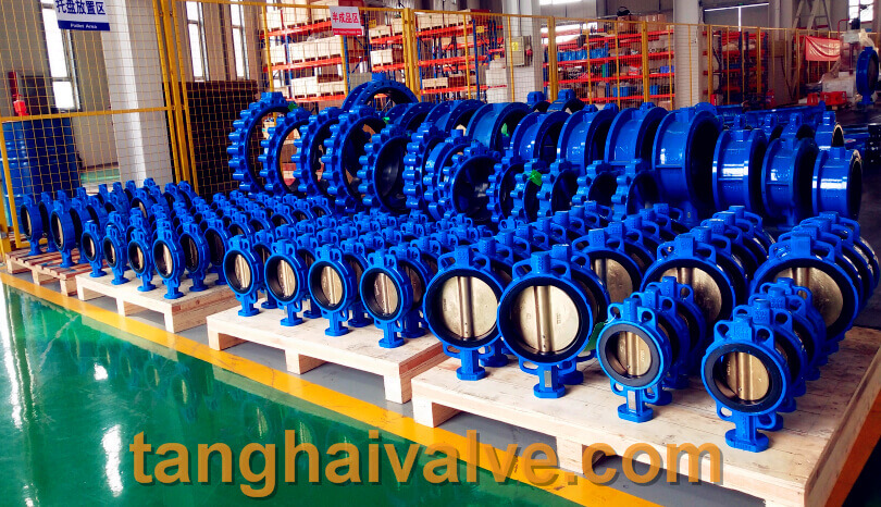 ductile iron, DI, butterfly valve, manufacturer, center line, TH valve