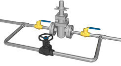 bypass valve installation
