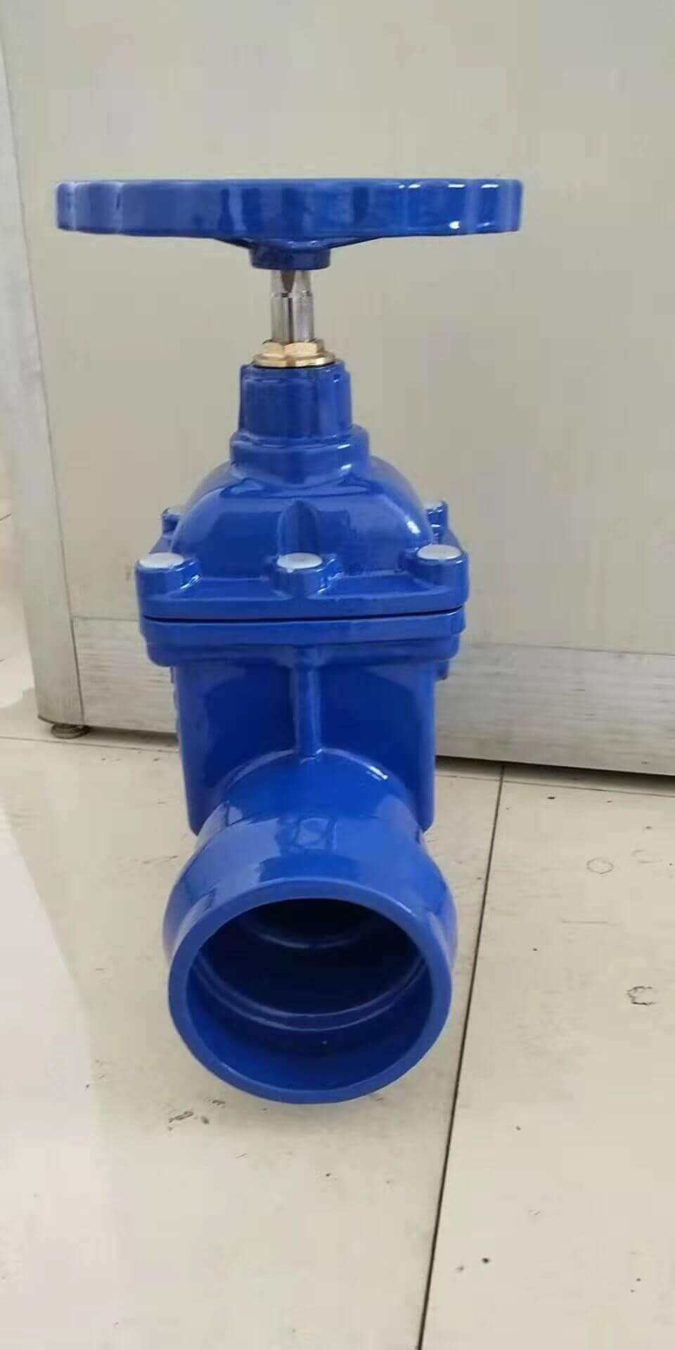 Socket ended resilient seated wedge gate valve-ductile iron (2)