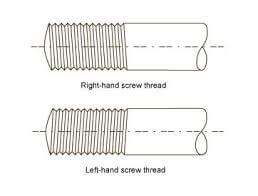 left &right hand thread