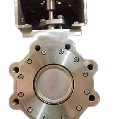 Double eccentric-lug butterfly valve-D72F-150lbP-stainless steel (4)