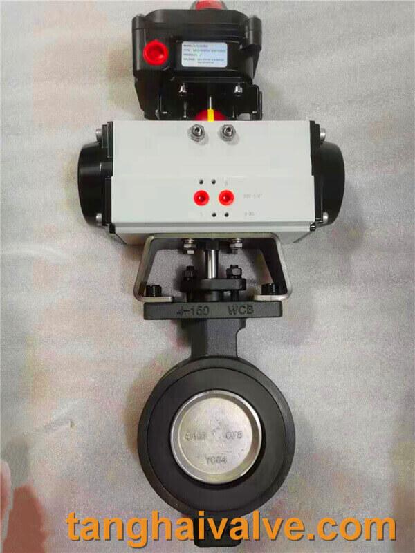 Double offset-butterfly valve-D972F-150lbC (1)