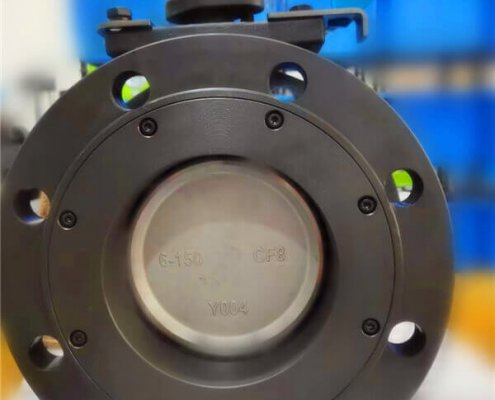 Double offset-flanged butterfly valve-D42F-150lbC (1)