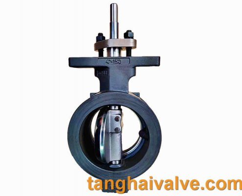 high performance-double offset-wafer type-butterlfy valve-metal seated (4)