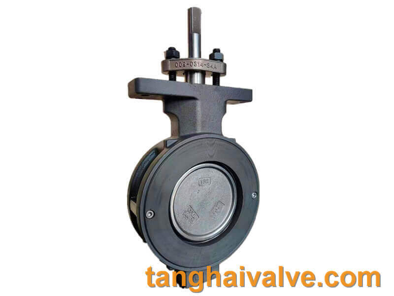 high performance-double offset-wafer type-butterlfy valve-metal seated (5)