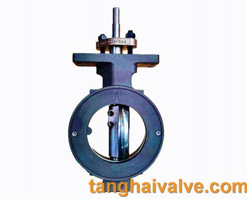 high performance-double offset-wafer type-butterlfy valve-metal seated (7)