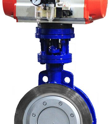 triple eccentric butterfly valve-wafer-lug-double flange-welded (5)