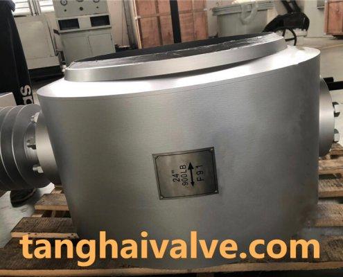 triple offset butterfly valve-butt weld
