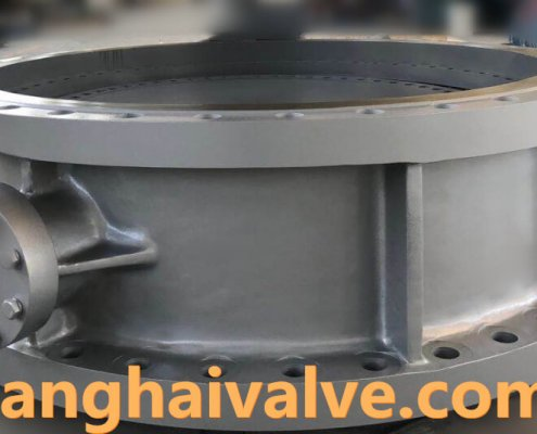 triple offset butterfly valve-double flange-
