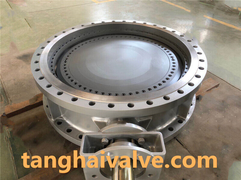 triple offset butterfly valve-double flange- (4)