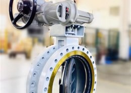 triple offset butterfly valve-double flange- (5)