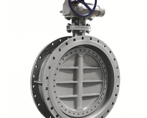 triple offset butterfly valve-double flange- (6)