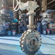 cryogenic triple offset butterfly valve 1