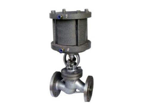 pneumatic globe valve